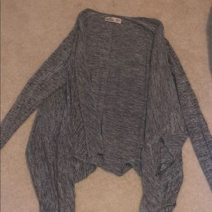 Hollister Gray Cardigan